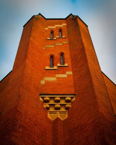 Church Architecture Low Angle View Architecture History No People Built Structure Building Exterior Day Sky Red Outdoors Travel Destinations Clear Sky Close-up