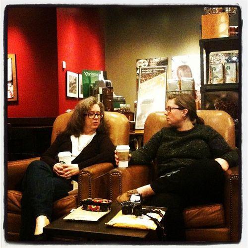 Buckstars with @kthug and her Mamie.