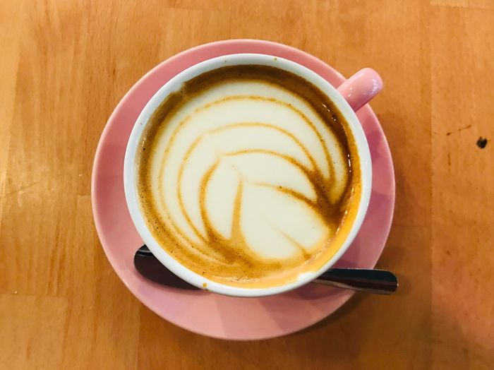 Delicious Coffee Drink Mug Food And Drink Cup Coffee Cup Coffee - Drink Cappuccino Close-up Froth Art Frothy Drink Refreshment My Best Photo
