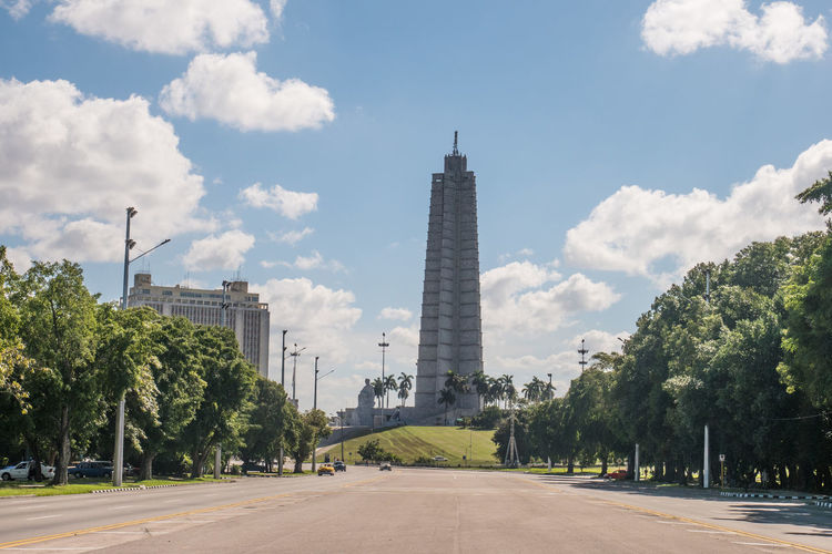 Cuba Havana Obelisk Architecture Building Exterior Built Structure City Cloud - Sky Day Monument Outdoors Sky Tall - High Tower Travel Travel Destinations Tree