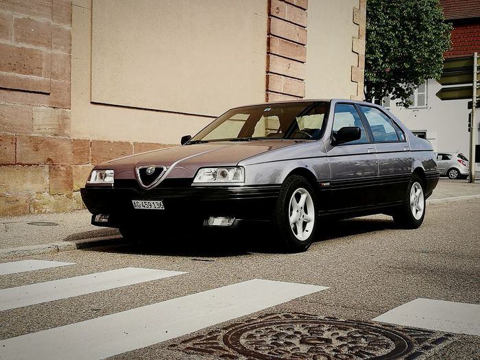 Dream of Italy - ALFA ROMEO 164 Car No People Outdoors Old-fashioned