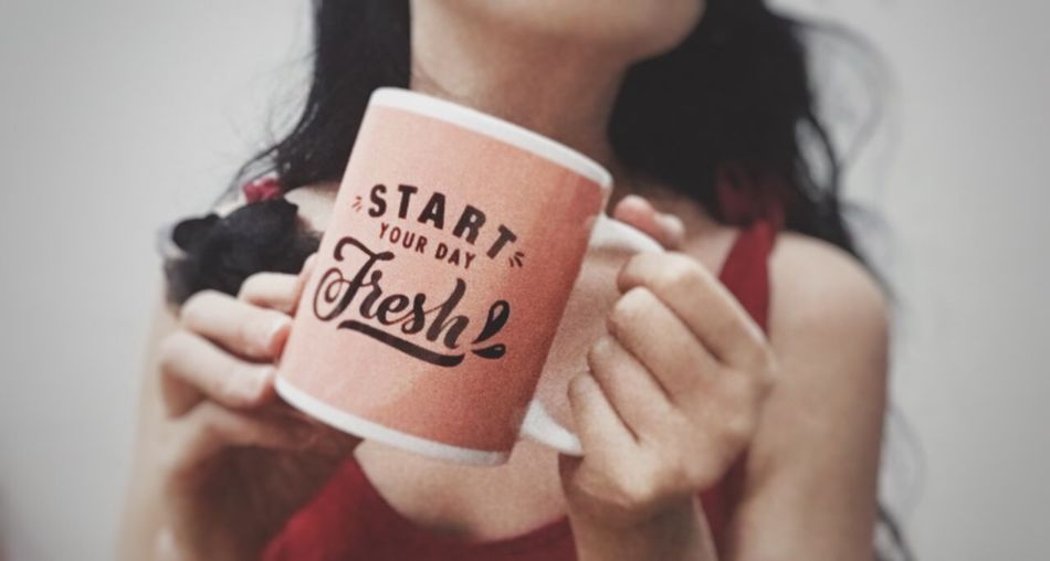 That's Right. Fresh Start! Can We? I Am Really Real Cup