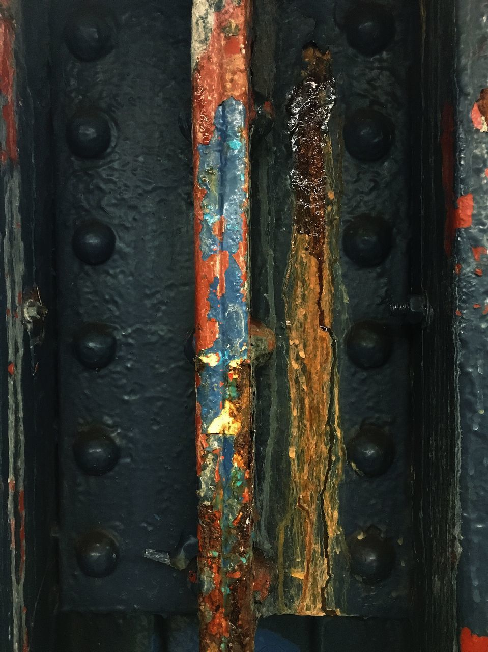 metal, rusty, close-up, weathered, full frame, backgrounds, door, no people, outdoors, day, hinge, textured