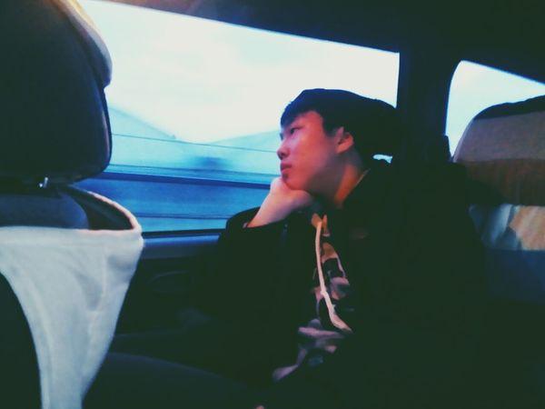Me In The Car Hat Vinnie