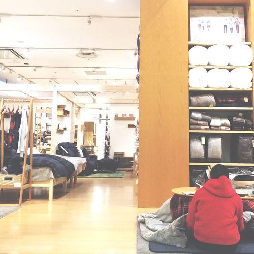 Muji Love Muji Akiphoto Enjoying Life MUJI and My son,AKI. Relaxing Streamzoo Streamzoofamily 靴のままコタツに入るなっ😫💦