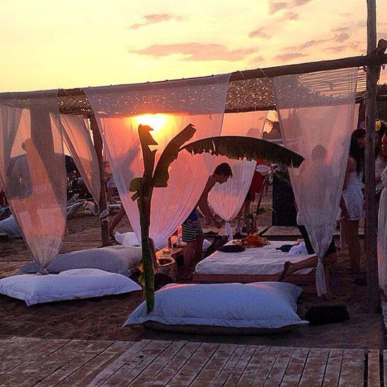 Sunset in Corfu. Sunset Corfu Greece Beach Launcher