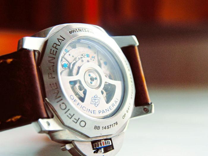 Machine Panerai Pam372 Close-up Number Technology Time Watch Wristwatch