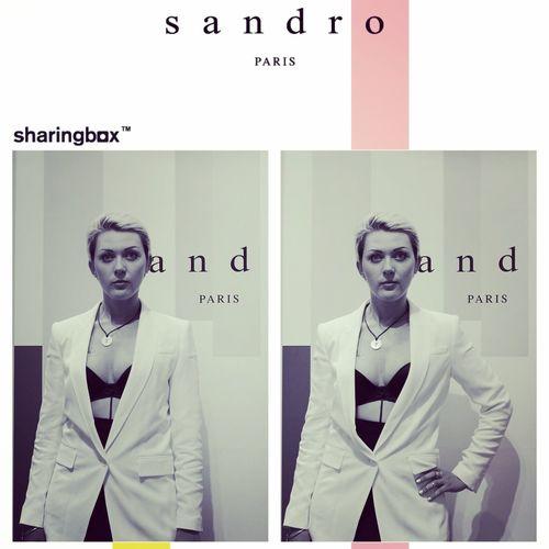 Sandro RUNWAY coktail So-chic So-it So-love That's Me