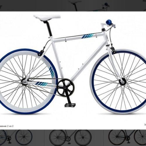 Вот что было в коробке) @bambucha @pipetca любопытненькие))) велосипед фикс Schwinn