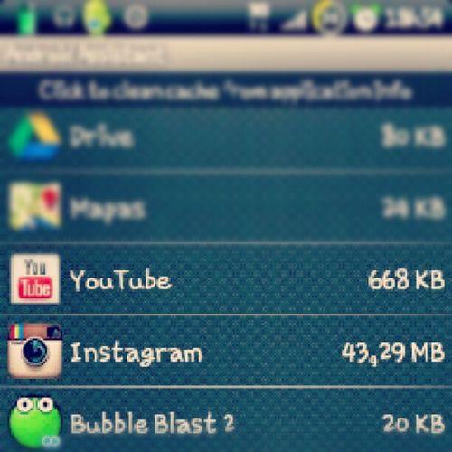 Instagram e seu pequeno cache...