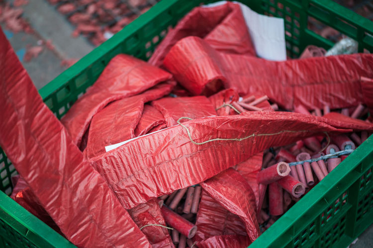sparkr Red Close-up No People High Angle View Large Group Of Objects Abundance Still Life Day Retail  Stack Green Color Textile Market Plastic Leaf Focus On Foreground Freshness Small Business For Sale Leaves