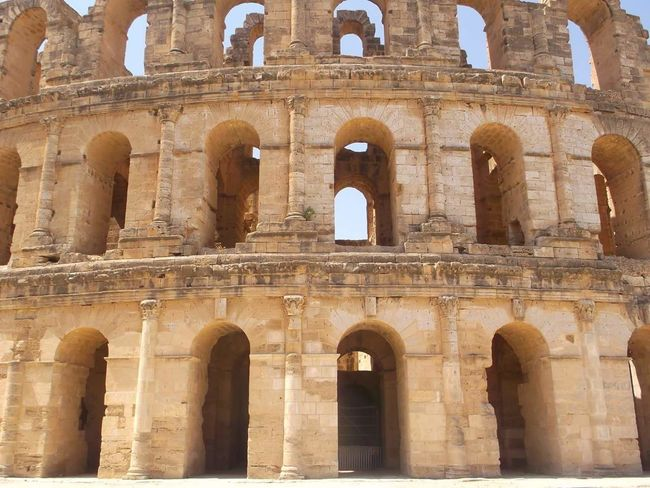 Colisseum Where Gladiators Battled To The Death Check Out The Orbs ! In The Depths