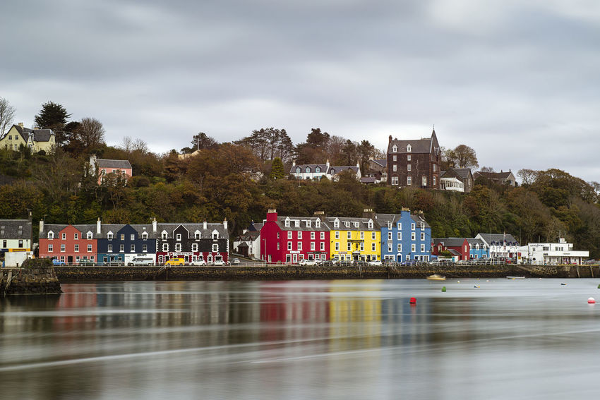 Painted Houses 10 Stop Filter Colours Houses Colouurful Long Exposure Painted Houses Reflections Reflections In The Water Seafront Seafront Views Seafront Walk Tobermory