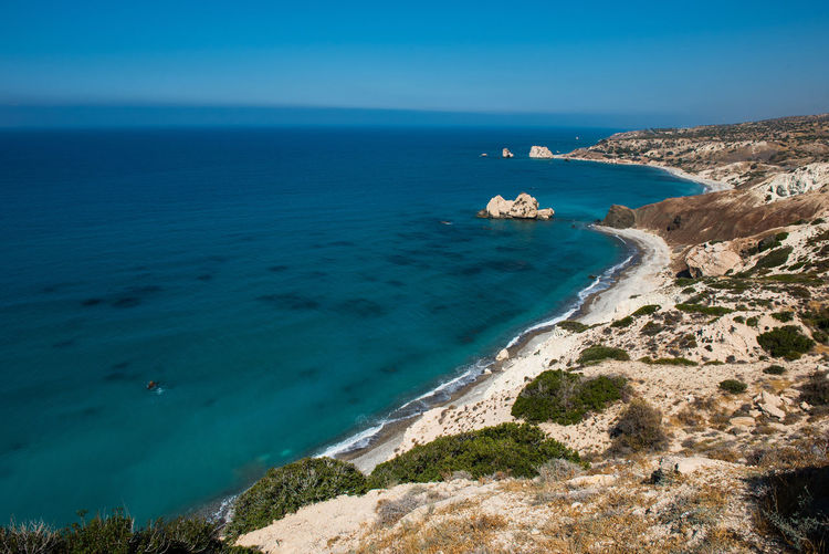 Rocky coastline, beach in Cyprus island Cyprus Mediterranean Sea Ocean View Rocky Beach Rocky Coastline Summer Vacation Wave Beach Beauty In Nature Blue Island Nature Ocean Outdoors Rocky Coast Scenics Sea Seascape Seaside Summer Turquoise Water Waves And Rocks Waves Crashing Waves, Ocean, Nature
