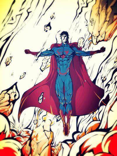 Man Of Steel Superhero