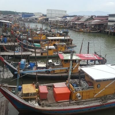 AWAY FROM URBAN CITY Colours Photography Rural Fishing village