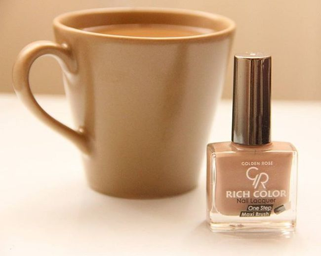 Golden Rose Rich Color 05 Maxi Brush 💅 Bumakyajj Nails Coffee Nailart  Beauty Goldenrose Cosmetics Naillacquer Onestep Ultrashine Richcolor Maxibrush
