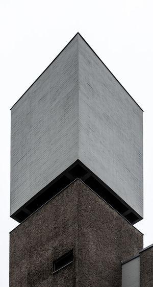 Berlin Church Cube Architecture Axonometric Building Building Exterior Built Structure Copy Space Corner Geometric Shape Low Angle View Ortogonal Outdoors Shape Wall - Building Feature Window