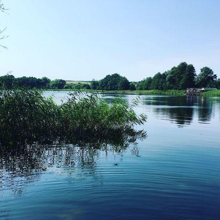 Irgendwo im nirgendwo Uckermark Summertime Lake
