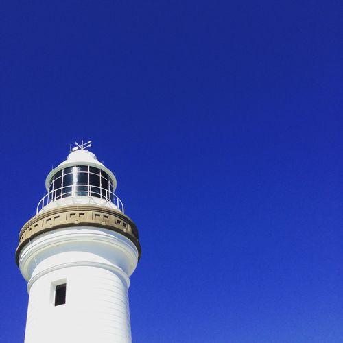 Lighthouse Against Clear Sky