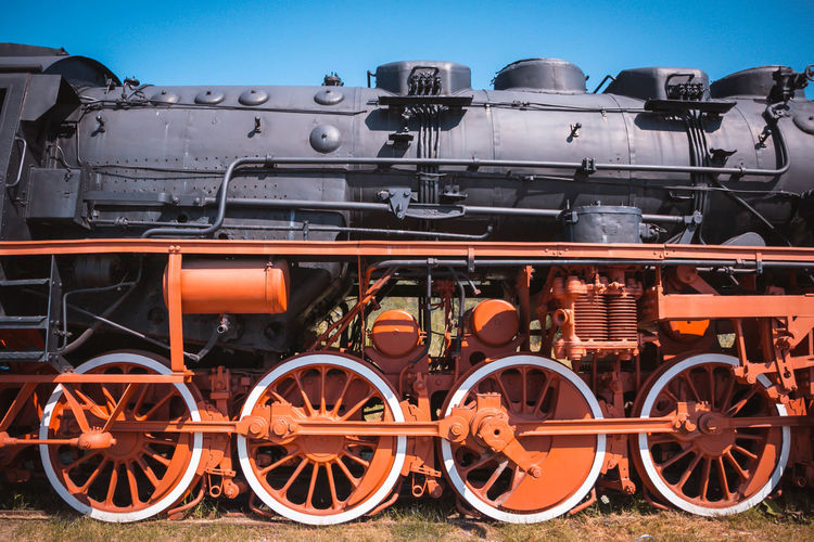 Day Locomotive Mode Of Transport No People Outdoors Sky Steam Train Train - Vehicle Transportation