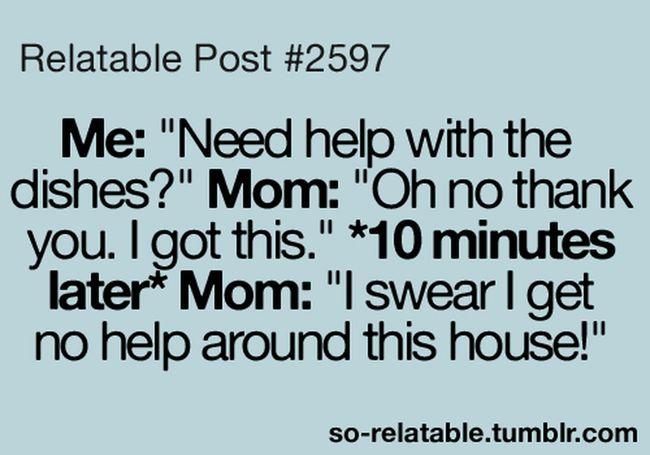 My Mom Do Dat Same Shit