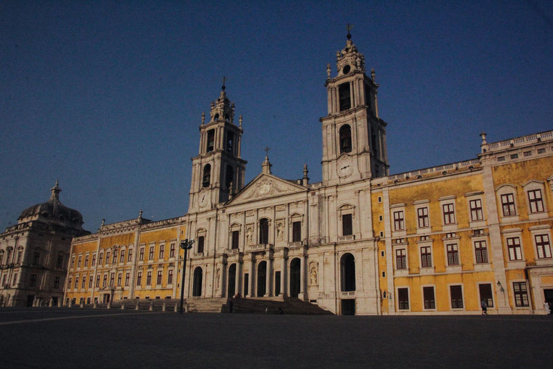 Convento De Mafra Architecture Building Exterior Built Structure Day History No People Outdoors Place Of Worship Religion Sky Spirituality Travel Destinations