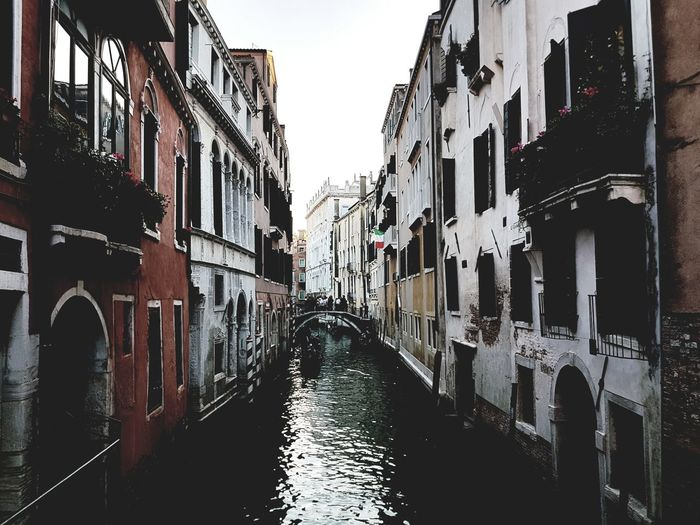 Venecia, Italia Architecture Built Structure Day Building Exterior No People Water Gondola - Traditional Boat Nature Lifestyles