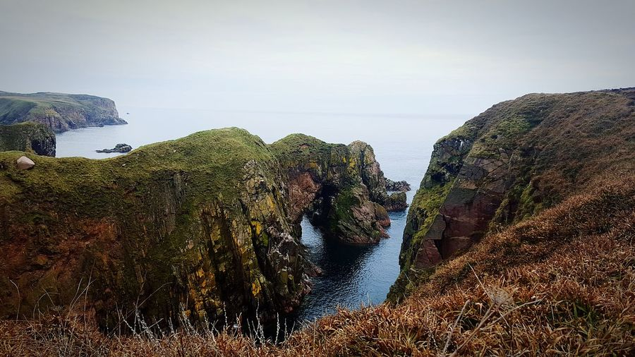 Bullers Of Buchan Seaside Cliffside Landscape_Collection