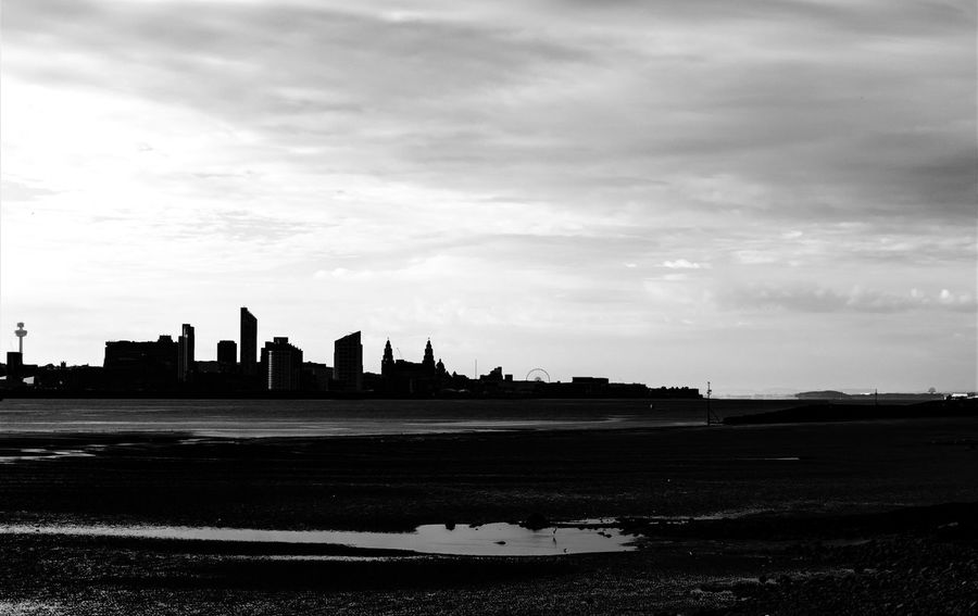 Liverpool Waterfront Liverpool, England Liverpool Docks Buildings & Sky Black And White Albert Docks River Mersey Merseyside Sunset Silhouette Silhouettes Silouette & Sky The Great Outdoors - 2017 EyeEm Awards