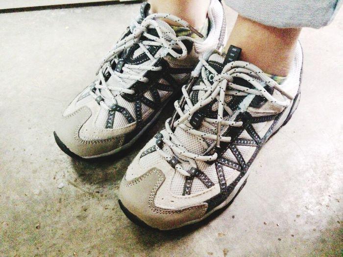 I got a new shoes