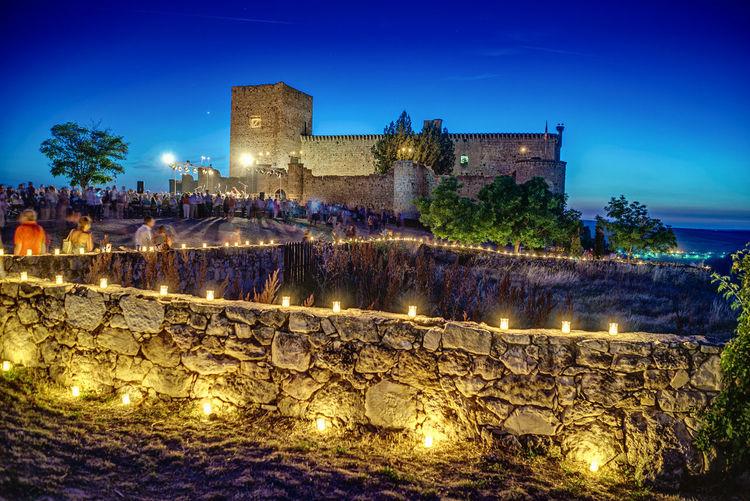 Castle Noche De Las Velas En Pedraza SPAIN HDR Connected By Travel