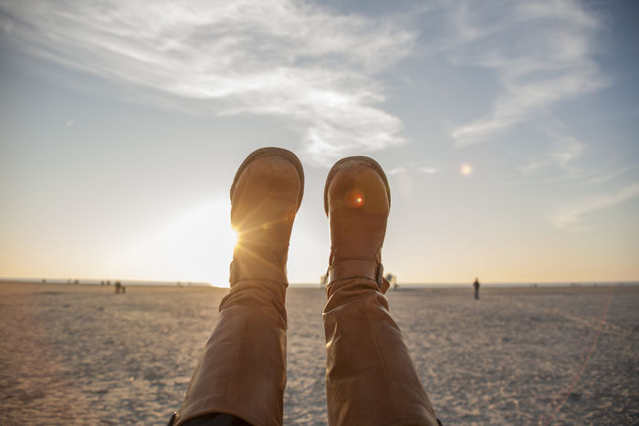 Beach Baltic Sea Beach Beachlife Beachlife, Clouds Horizon Horizon Over Land Shoes Sky Sky And Clouds Sunset Swing Swingset