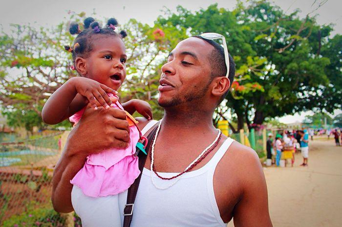 May 2015, Trinidad, Cuba Cuba Peoplephotography Emotions Baby Holiday Enjoying Life Happy People Travel Traveling Negro