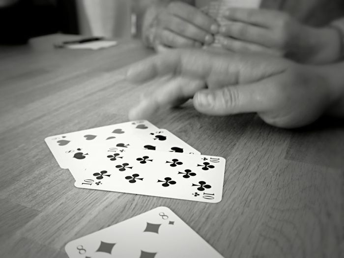 If the weather is cold and rainy. . Taking Photos Hanging Out Relaxing Hello World Enjoying Life Blackandwhite Photography Bad Weather Good Mood Rainy Day Playing Cards The Photojournalist - 2016 EyeEm Awards
