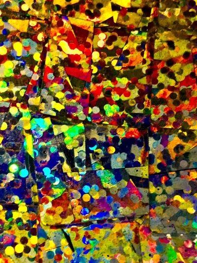 Multi Colored Full Frame Backgrounds Pattern Art And Craft No People Creativity