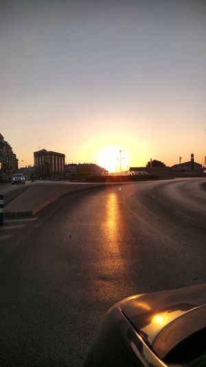 Sundown Picsfromacar Beautiful Niceday Sunny Day Fountain First Eyeem Photo