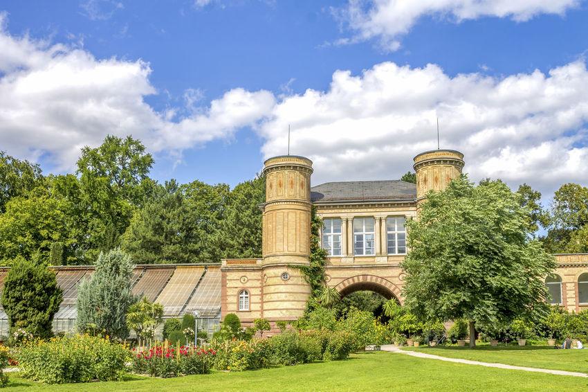 Karlsruhe, Germany Baden-Württemberg  Castle City Cityscape Family Gottesaue Karlsruhe Vacations Bontanical Garden Botanical Garden Germany Monument Palace