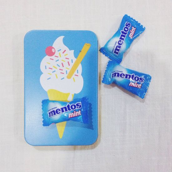 Candies for the flight Candies Mentos
