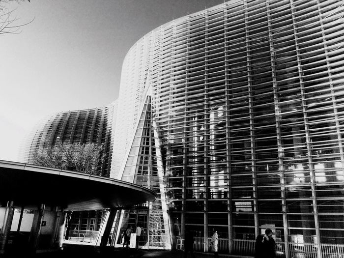 Architecture Blackandwhite Museum Roppongi Japan Urban