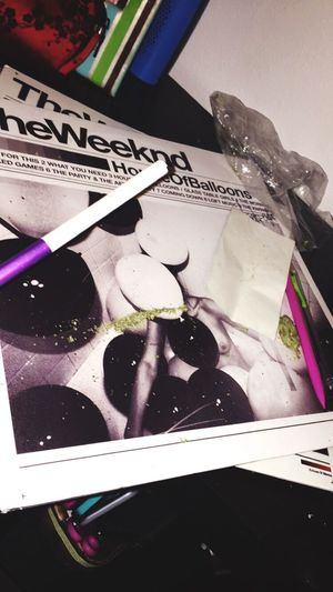 420 Theweeknd Houseofballoons  Trilogy Weed Purple Freethenip Records Vinyl Vintage Xo Faded