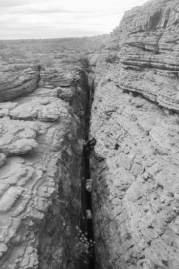 Blackandwhite EyeEm Black&white! EyeEm Nature Lover Landscape Nature Grand Canyon Gap