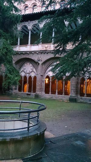 El Claustro en el Monasterio De Veruela