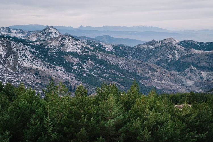 Sierra Nevada / Granada / Spain EyeEmNewHere Hiking Beauty In Nature Cold Temperature Day Landscape Mountain Mountain Range Mountains Nature No People Outdoors Scenics Sierra Nevada Sky Snow Tranquil Scene Tranquility Tree Winter