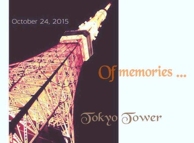 思い出 去年 Japan EyeEm Gallery Tokyo,Japan 夜景 東京 Tokyotower