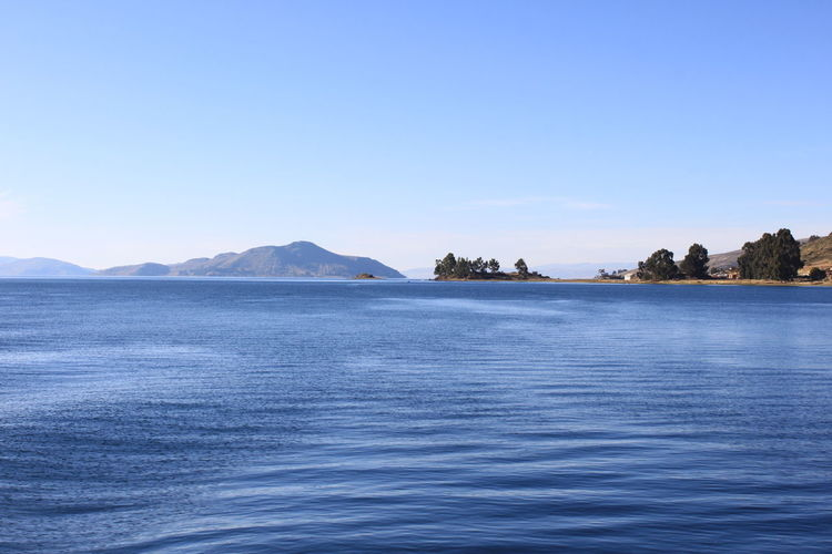 The Great Outdoors With Adobe Blue Wave Beautiful Nature Blue Bolivia Clear Sky Mountain Nature No People Peru Titicaca Lake Tranquil Scene Tranquility Water