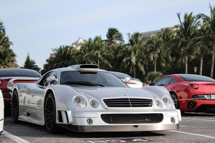 Who wants this on their wall? Car Mercedes Clkgtr Supercar Racecar Dreamcar 1999 Rare