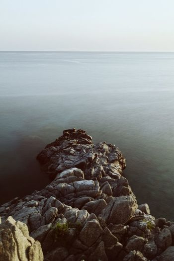 Sea Water Nature Tranquility Tranquil Scene Beauty In Nature Scenics Rock - Object Outdoors Horizon Over Water No People Day Clear Sky Sky Close-up Pebble Beach VSCO Cam Vscogood VSCO Scenery Waterfront Landscape_photography Sea View Seascape Sea And Sky The Week On EyeEm