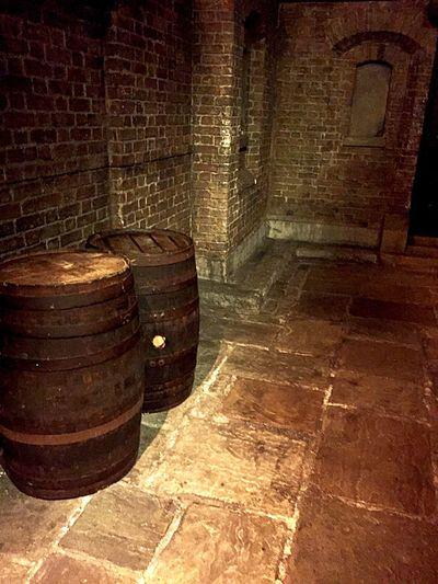 London Cellar Barrel Wine Cellar Wine Cask Alleyway London At Night  London Secrets Secretspot