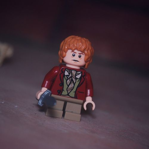 Bilbo Baggins | LEGO Bilbobaggins TheHobbit Nikon Nikonphotography 55mm Photography Photograps Portrait Toy